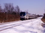 Amtrak #51 rolls west